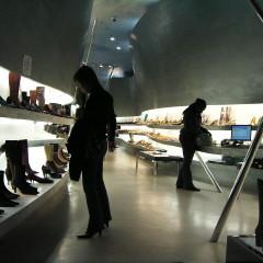Обувной бутик в Нью-Йорке